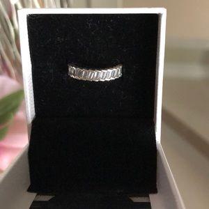 Pandora 197744CZ Silver Glacial Beauty Ring Size 6